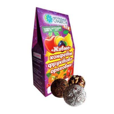 Конфеты оптом от производителя - Живые конфеты из сухофруктов