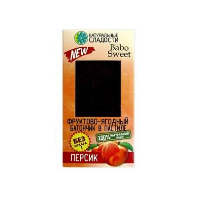Персиковый батончик оптом