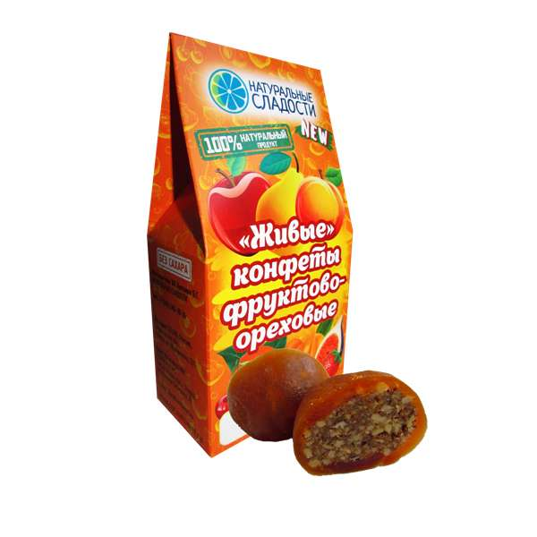 "Конфеты оптом АТОМ ""Алани абрикос Виктория"""